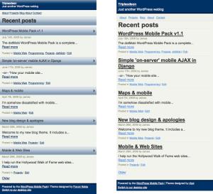 WordPress Mobile Pack1