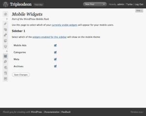 WordPress Mobile Pack7
