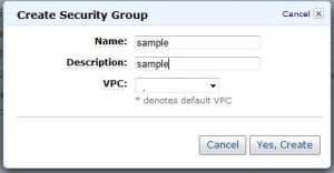 EC2セキュリティグループ2