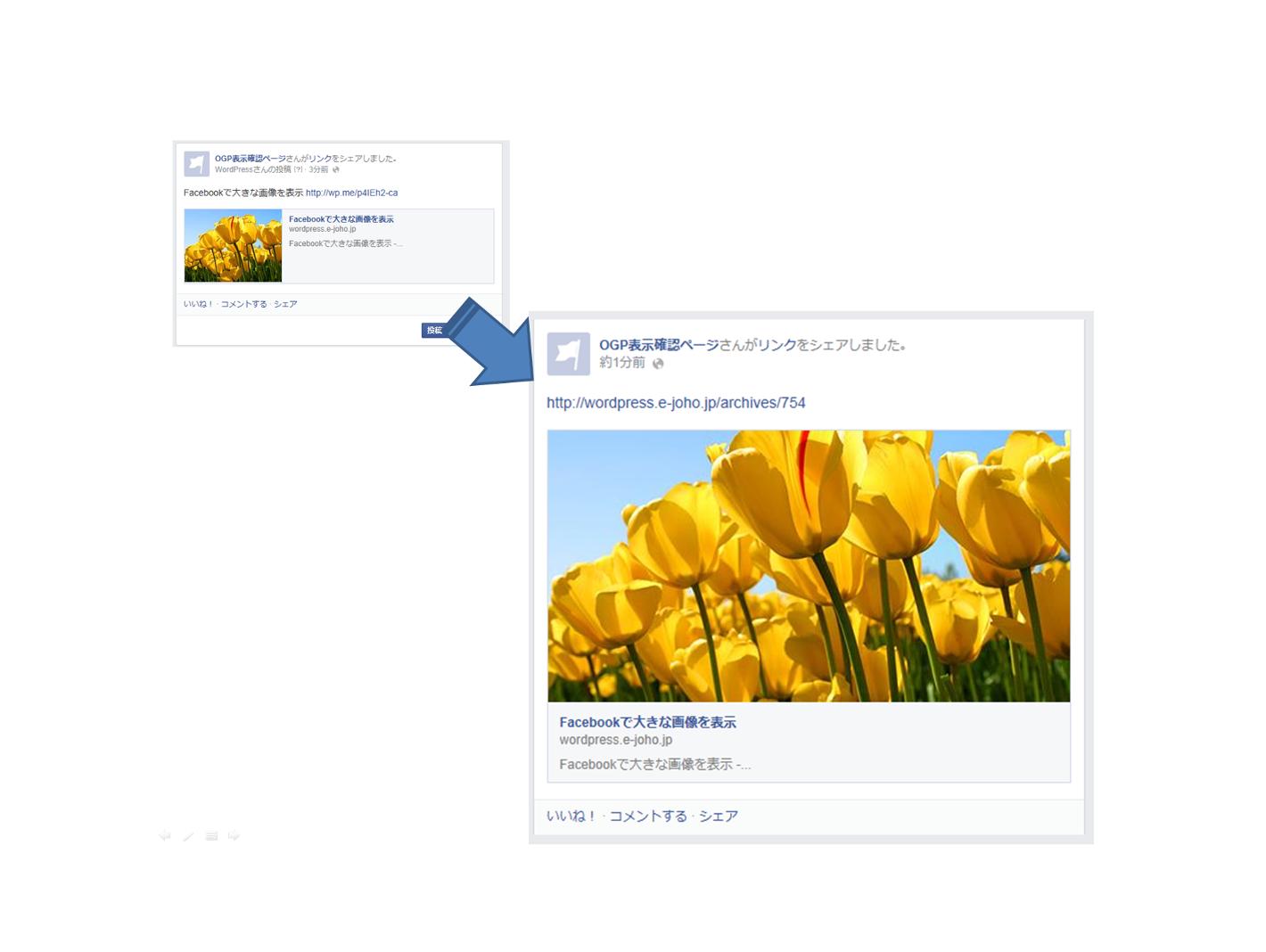 Facebookで画像を大きく表示させる解像度とは
